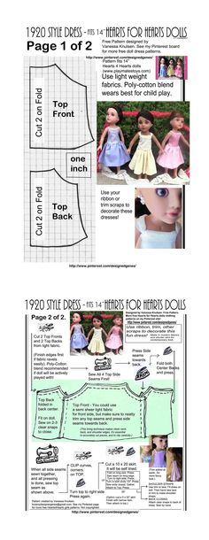 Party Dress Pattern Free Doll Clothes 42 New Ideas Sewing Doll Clothes, Sewing Dolls, Girl Doll Clothes, Girl Dolls, Dress Sewing, American Girl Crafts, American Girl Clothes, Doll Dress Patterns, Clothing Patterns