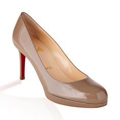 Christian Louboutin Simple Pump- grege