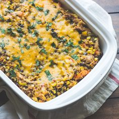 Hatch Chile Southwestern Quinoa Casserole - The Adventures of MJ and Hungryman @mjandhungryman