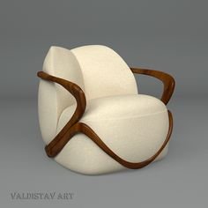 HUG – armchair from Giorgetti by Valery Stavrev, via Behance