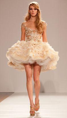 Dilek Hanif Haure Couture Spring 2012.