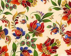 russian folk art painting - Google Search