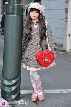 130120-1353 - Japanese street fashion in Harajuku, Tokyo