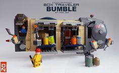 BT004_01 | by LEGOLIZE IT MAN Lego Spaceship, Lego Robot, Lego Camper, Lego Ship, Lego Worlds, Landing Gear, Heart For Kids, Cool Lego, Legos
