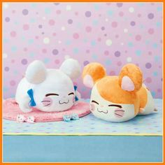 Bijou and Hamtaro (Ribon-chan and Hamutaro)