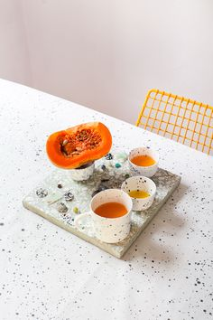 <p>Warsaw-based ceramics studio FENEK was started in 2014 by Agata Klimkowska and Tosia Kili. The designers work mostly with porcelain, which they embellish by hand. Inspired by Japanese minimalism an