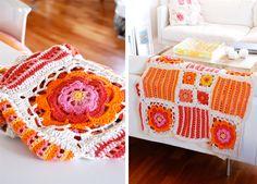 Orange blossom blanket. Pattern here http://www.garnstudio.com/lang/us/pattern.php?id=5583=us