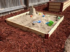 Have kids taken over your time as a full-time gardener? Use your garden raised bed box as a sandbox! Our corner brackets and professional designing make our boxes efficient in keeping sand/dirt inside the box. Our raised bed boxes are offered in multiple sizes. Also, let us know about your ideas for a custom order! We'll always do what we can for customer satisfaction. Interested in our products? Check us out at  http://www.growitnow.com/raised-beds