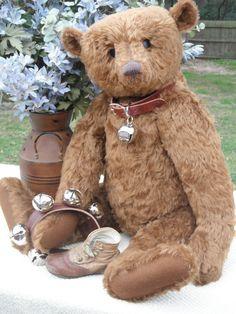 "HUGE OOAK MOHAIR ARTIST TEDDY BEAR by ~LINDA DORR~ aDORRable BEARS  ~ 25"" ~"