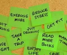 Stress-Free New Year Resolutions