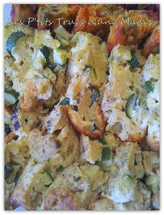 Les P'tits Trucs d'une Mam's: Mes cakes ensoleillés : courgette/vache qui rit et chorizo/olive/tomate