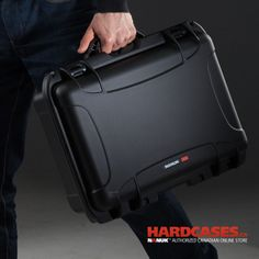 Great and portable, the Nanuk 925 fits just like a personal suitcase but much better. You'll feel like James Bond with this Hard Shell protective case in hand.
