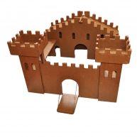 Zelf een houten  kasteel maken