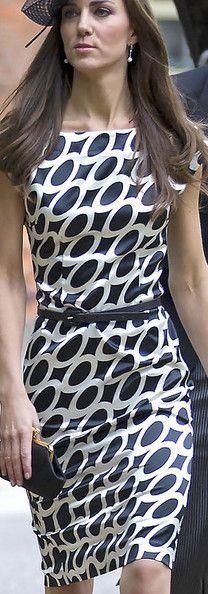 Kate Middleton Print Dress - Kate Middleton Clothes - StyleBistro