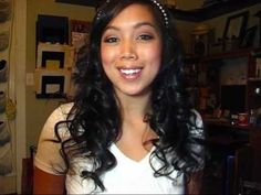 How to Create bouncy curls with a flat iron...TRYING THIS TOMORROW!!! tried a few weeks ago and never got any type of curl but its worth another try