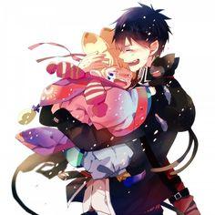 Usamaro, Kuro and Rin