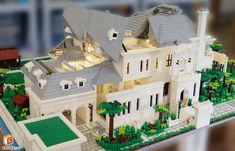Legos, Lego Lego, Lego Batman, Lego Mansion, Lego Train Station, Lego Creative, Kitchen Design Open, Lego Games, Lego Table