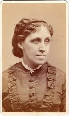 "Louisa May Alcott, nurse during the Civil War and well known author, wrote ""Little Women"" #Alcott #civil_war #Little_Women"