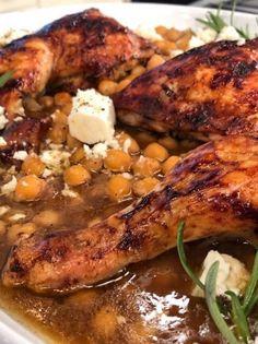Ρεβιθάδα με κοτόπουλο στο φούρνο - www.olivemagazine.gr