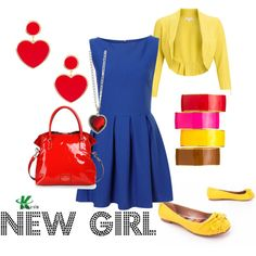New Girl - The outfits inspired by this show makes me want to watch it!