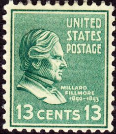 Millard Filmore Issue of 1938-13c. On June 2, 1890 the US Post Office issued a brown 5-cent Postage stamp honoring Ulysses S. Grant. It was the first US Postage stamp to depict the former President and Civil War General. This issue was released exactly twenty-five years after Gen. Edmond Kirby Smith's surrender of the last major Confederate army at Galveston, Texas, on June 2, 1865. The issue was printed by the American Bank Note Company.[43]
