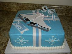 Image detail for -Ice skate Birthday Cake - Cake Decorating Community - Cakes We Bake