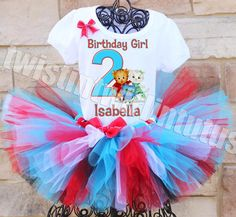 Daniel Tiger Birthday Tutu Outfit | Daniel Tiger Birthday Shirt | Daniel Tiger Birthday Party Ideas | Daniel Tiger Party Ideas | Birthday Party Ideas for Girls | Birthday Party Ideas for Boys | Twistin Twirlin Tutus #danieltigerbirthday
