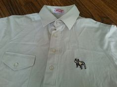 Vtg Mens Mack Trucks Embroidered Bulldog Spor Thomson Mercerized Polo Shirt in Clothing, Shoes & Accessories | eBay