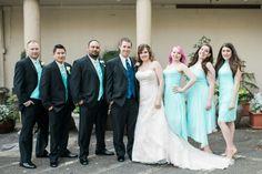 My wedding colors turned out so good. #davidsbridal #bjonesphotography #menswearhouse