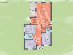 Bungalov Emma 6 Design Podorys - Bungalov EMMA 6 | Familyhouse Diagram, Floor Plans, Design, Design Comics, Floor Plan Drawing, House Floor Plans
