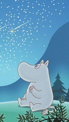 ムーミン/Moomin[18]iPhone壁紙 iPhone 5/5S 6/6S PLUS SE Wallpaper Background