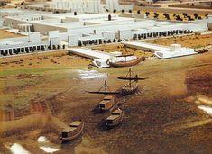 Amarna-Royal-barge-arriving.jpg (1181×859)