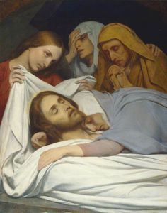 The Athenaeum - The Holy Women at the Sepulchre (Ary Scheffer)