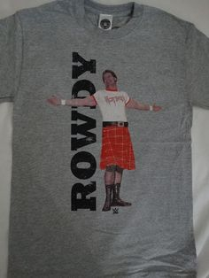 Rowdy Roddy Piper Hot Rod Wrestling Officially Licensed WWE T-Shirt #WWERoddyPiper #GraphicTee