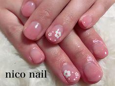 浜松市 中区 自宅ネイルサロン nico nail ニコネイル:幸せのブライダルネイル(ハンドとフット)