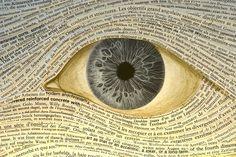 #abstrato #surreal ☆ * #Arte * #Visão * #Olhos Livros *
