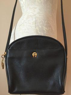 Leather Crossbody Bag Etienne Aigner Cross Body Bags Handbag Accessories Vintage Clothing