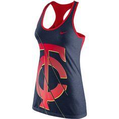 Minnesota Twins Women's Loose Dri-Blend DRI-FIT Tank by Nike - MLB.com Shop