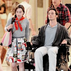 """Sam on set of """"Me Before You"""""""