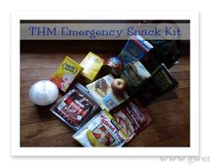 THM On The Run Snack Bag {Trim Healthy Tuesday} - Gwens Nest- for emergencies only!!