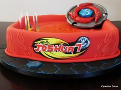 beyblade birthday cake | Big Beyblade Cake! - by Kprecious @ CakesDecor.com - cake decorating ...