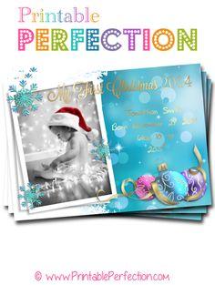Holiday Party Invitations - Christmas - Photo Card - Ornaments