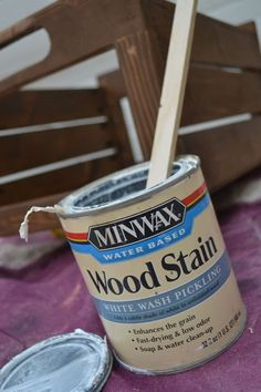 How To Paint Furniture | Whitewash Stained Finish | Ana White - Homemaker