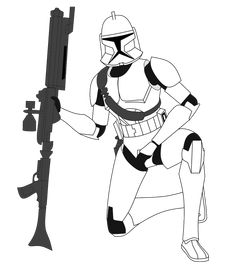 Clone Commander (Request) by FBOMBheart on DeviantArt Star Wars Rpg, Star Wars Toys, Star Wars Clone Wars, Star Trek, Star Wars Pictures, Star Wars Images, Star Wars Timeline, Star Wars Drawings, Galactic Republic