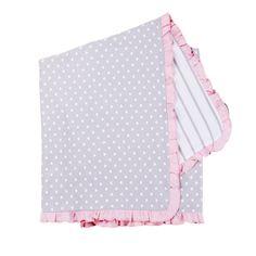 Cotton Receiving Blanket - Reversible