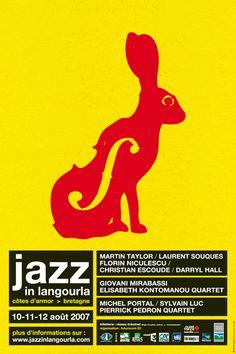 Jazz In langourla 2007, Visuel Eric Collet