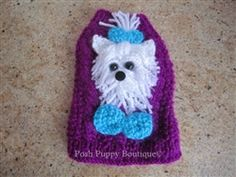 Couture Maltese in Bowtie Dog Sweaters- Apparel - Sweater Posh Puppy Boutique