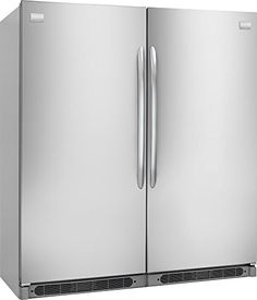 frigidaire all fridge and all freezer side by side with double trim rh pinterest com