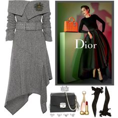goodie bag#3 by confusgrk on Polyvore featuring мода, Monse, Christian Dior, NOVICA and AmiciMei