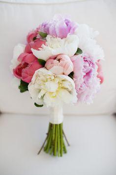 Pastel peony bouquet by Pink Twig. Photography: Jaime & Joseph Maddalena - josephandjaimeweddings.com  Read More: http://www.stylemepretty.com/canada-weddings/2014/02/17/pink-gardiner-museum-wedding/